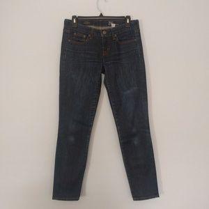 J. Crew Toothpick Skinny Ankle Jeans